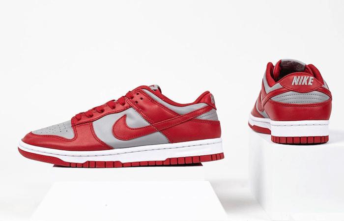 Nike Dunk Low UNLV Grey University Red DD1391-002 03