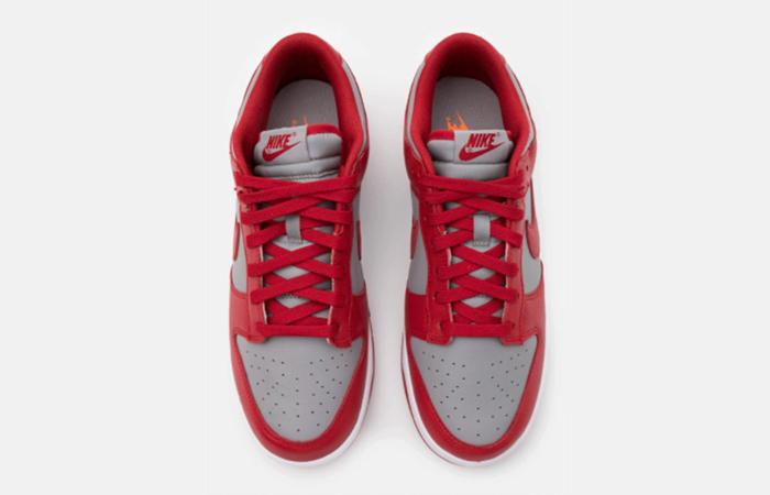 Nike Dunk Low UNLV Grey University Red DD1391-002 07