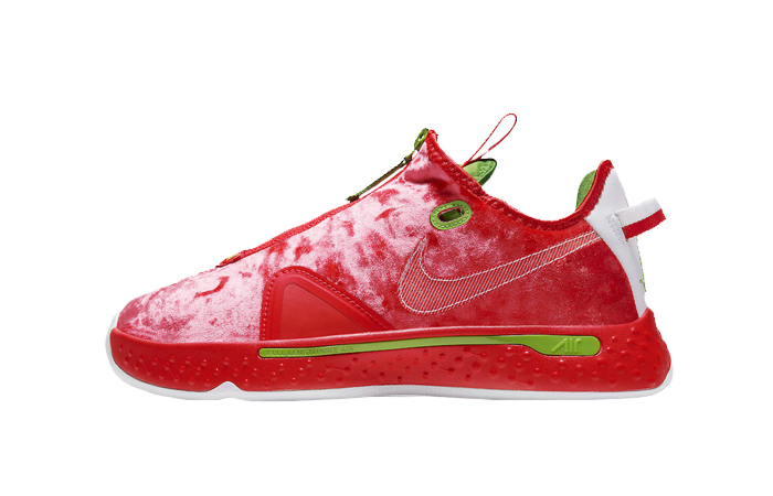 Nike PG 4 Christmas Crimson Volt White CD5079-602 01