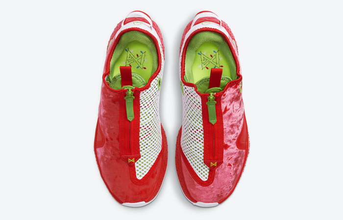 Nike PG 4 Christmas Crimson Volt White CD5079-602 04