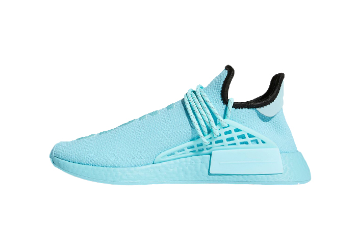 Pharrell Williams adidas NMD Hu Aqua Blue GY0094 01