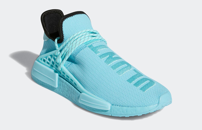 Pharrell Williams adidas NMD Hu Aqua Blue GY0094 02