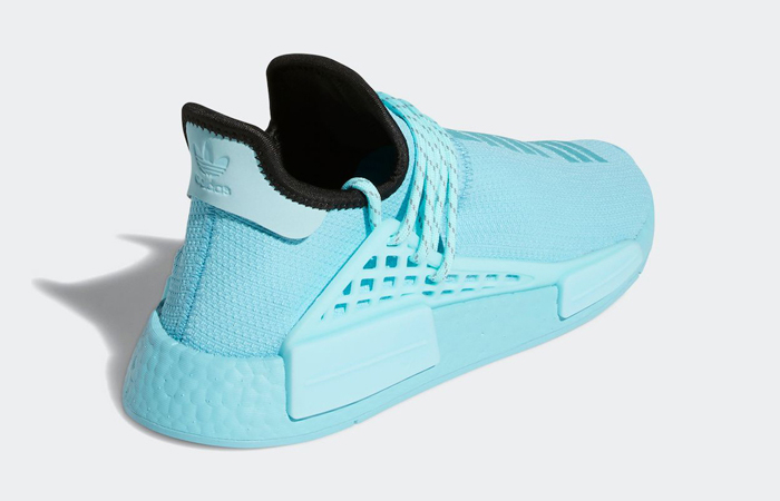 Pharrell Williams adidas NMD Hu Aqua Blue GY0094 05