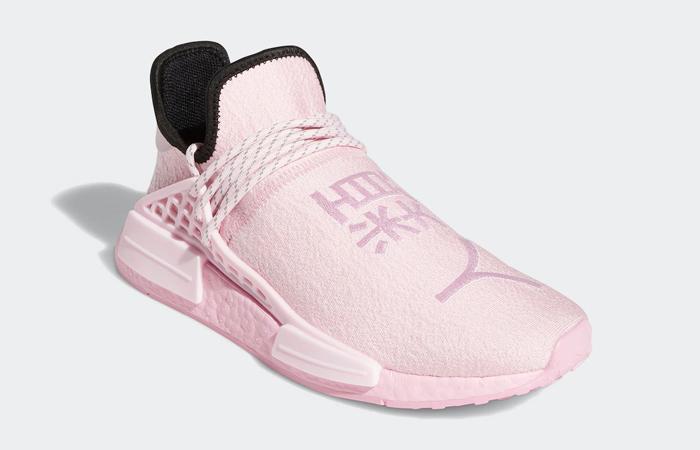 Pharrell Williams adidas NMD Hu Pink GY0088 02