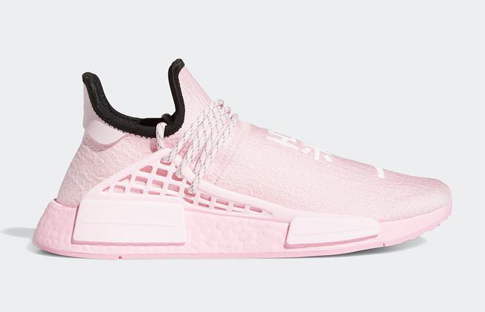 Pharrell Williams adidas NMD Hu Pink GY0088 03