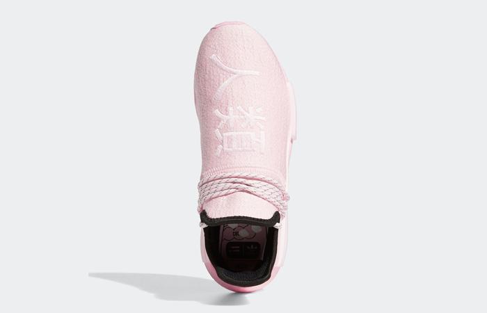 Pharrell Williams adidas NMD Hu Pink GY0088 04