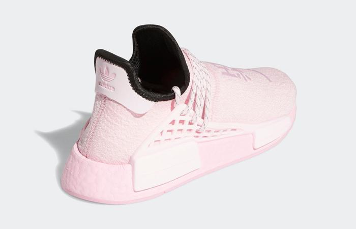 Pharrell Williams adidas NMD Hu Pink GY0088 05