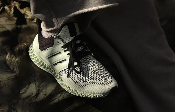 SNS adidas Ultra 4D Teal Green White FY5631 on foot 01