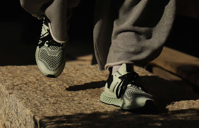 SNS adidas Ultra 4D Teal Green White FY5631 on foot 02