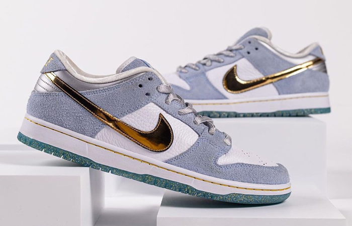 Sean Cliver Nike SB Dunk Low White Psychic Blue DC9936-100 02