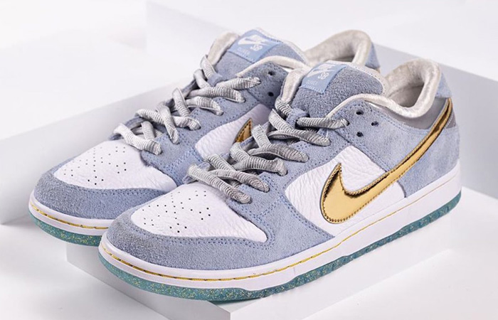 Sean Cliver Nike SB Dunk Low White Psychic Blue DC9936-100 03