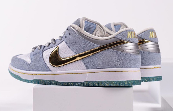 Sean Cliver Nike SB Dunk Low White Psychic Blue DC9936-100 04