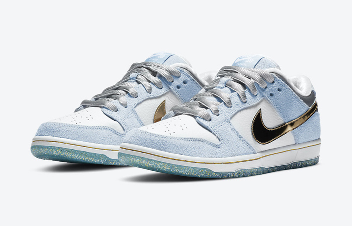 Sean Cliver Nike SB Dunk Low White Psychic Blue DC9936-100 05