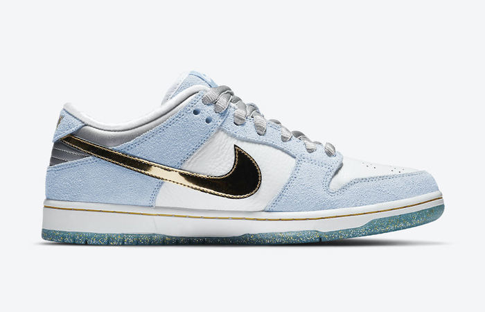 Sean Cliver Nike SB Dunk Low White Psychic Blue DC9936-100 06