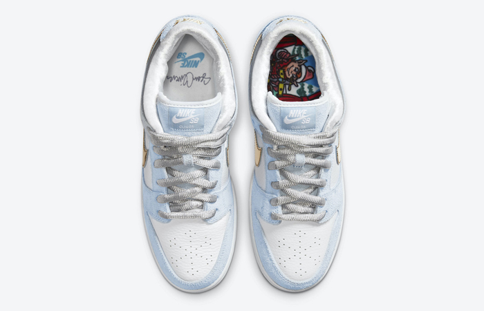 Sean Cliver Nike SB Dunk Low White Psychic Blue DC9936-100 07