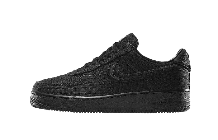 Stussy Nike Air Force 1 Low Core Black CZ9084-001 01
