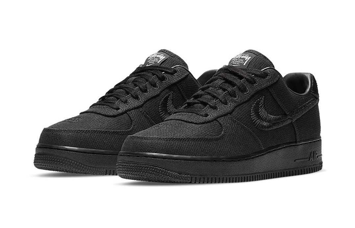 Stussy Nike Air Force 1 Low Core Black CZ9084-001 02