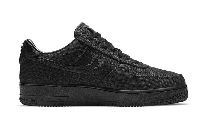 Stussy Nike Air Force 1 Low Core Black CZ9084-001 03