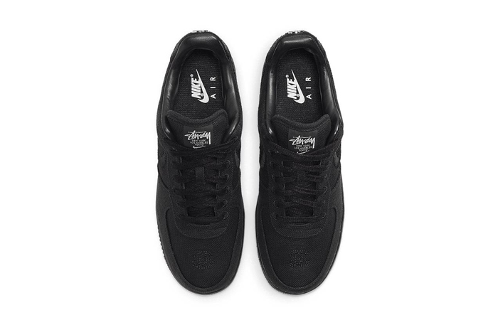 Stussy Nike Air Force 1 Low Core Black CZ9084-001 04