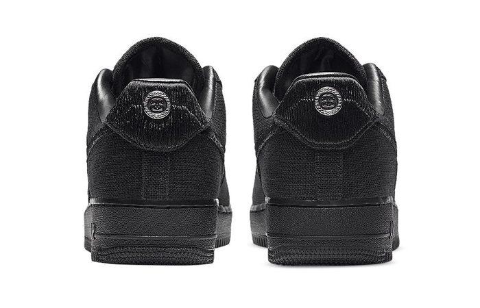 Stussy Nike Air Force 1 Low Core Black CZ9084-001 05