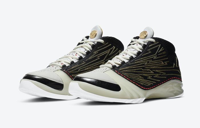 Titan Nike Air Jordan 23 Black Metallic Gold CZ6222-001 03