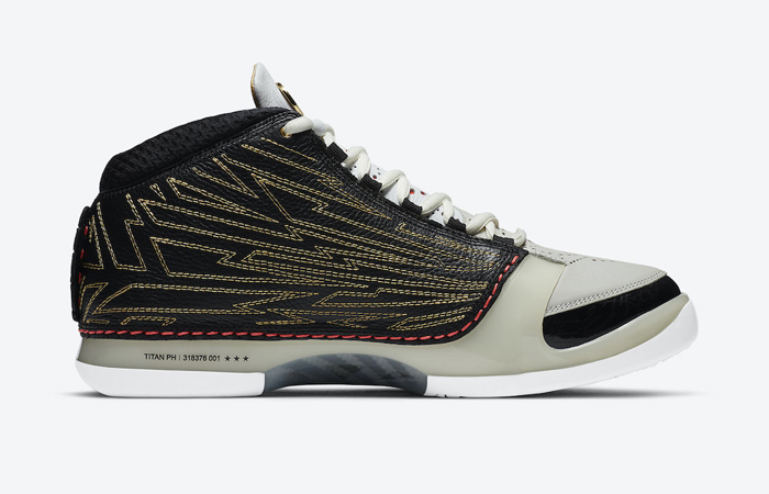 Titan Nike Air Jordan 23 Black Metallic Gold CZ6222-001 04