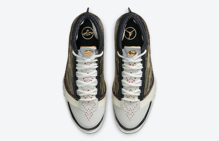 Titan Nike Air Jordan 23 Black Metallic Gold CZ6222-001 05