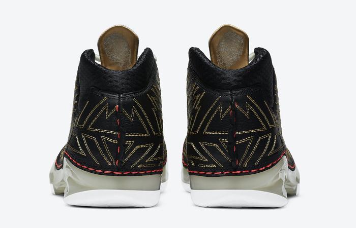 Titan Nike Air Jordan 23 Black Metallic Gold CZ6222-001 06