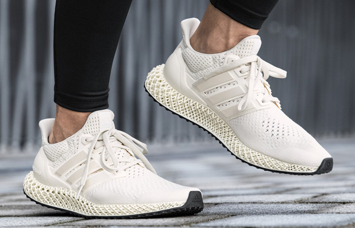 adidas Ultra 4D Chalk White FX4089 on foot 02