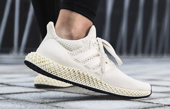 adidas Ultra 4D Chalk White FX4089 on foot 03