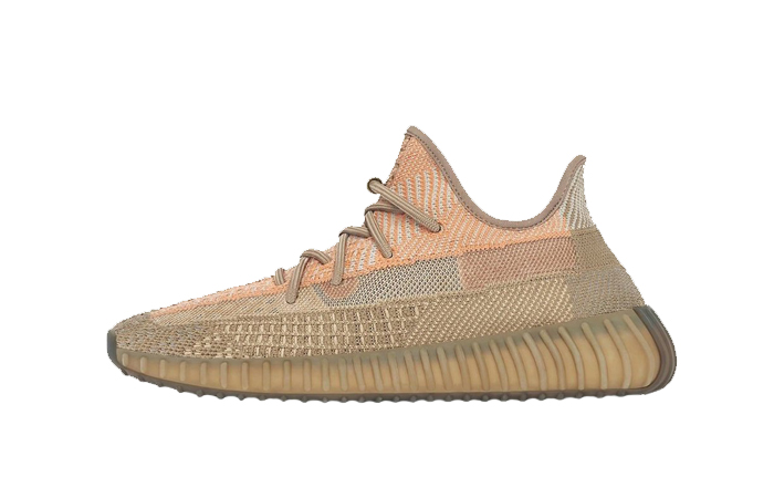 adidas Yeezy Boost 350 V2 Sand Taupe Orange FZ5240 01