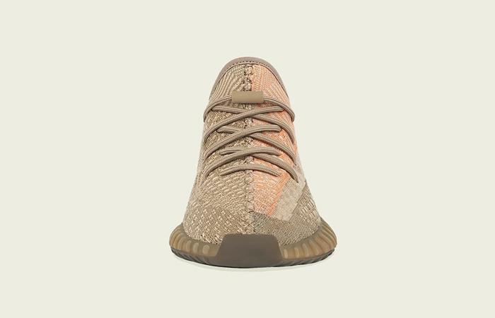 adidas Yeezy Boost 350 V2 Sand Taupe Orange FZ5240 05