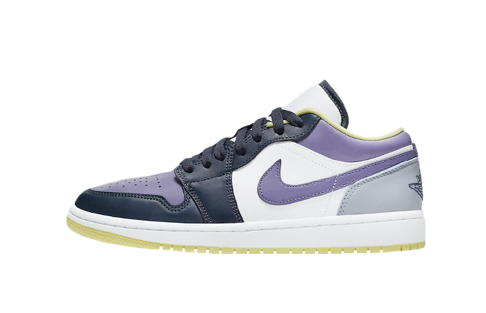 Air Jordan 1 Low Purple Magenta White DJ4342-400 01