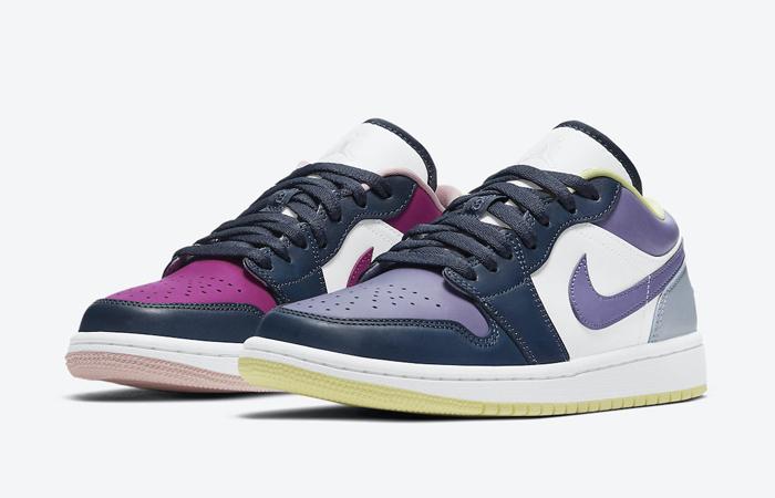 Air Jordan 1 Low Purple Magenta White DJ4342-400 02