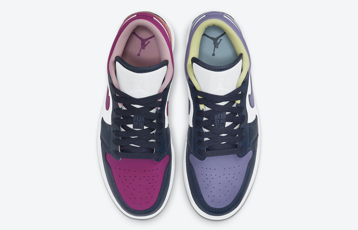 Air Jordan 1 Low Purple Magenta White DJ4342-400 04