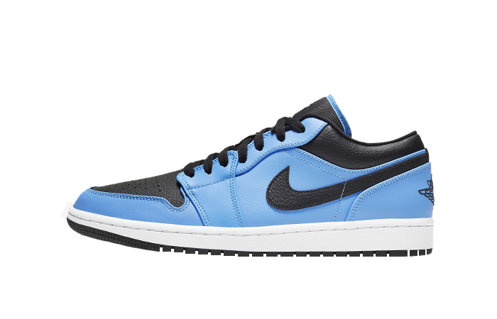 Air Jordan 1 Low University Blue Black 553558-403 01