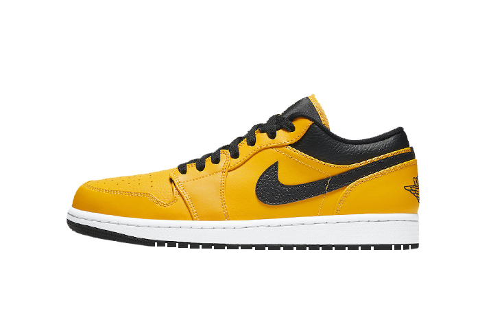 Air Jordan 1 Low University Gold Black 553558-700 01