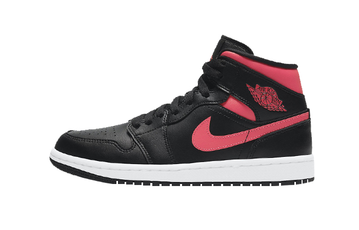 Air Jordan 1 Mid Black Siren Red BQ6472-004 01