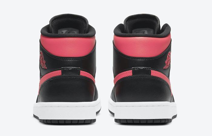 Air Jordan 1 Mid Black Siren Red BQ6472-004 05