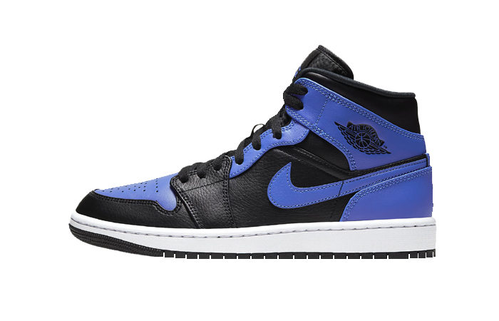 Air Jordan 1 Mid Hyper Royal 554724-077 01