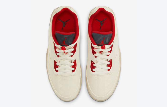 Air Jordan 5 Low Chinese New Year Pearl White Chile Red DD2240-100 04