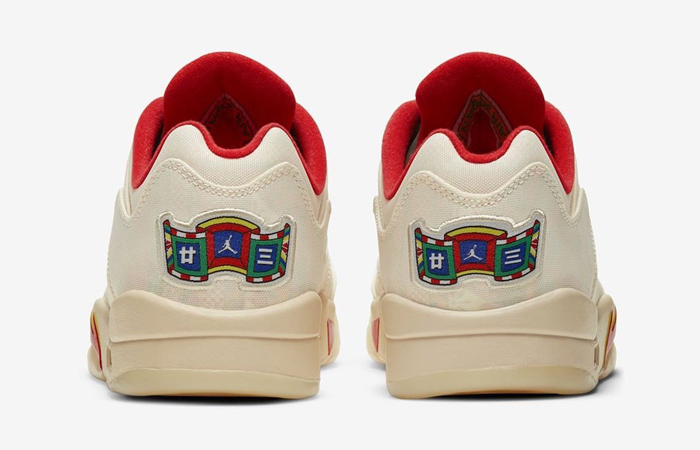 Air Jordan 5 Low Chinese New Year Pearl White Chile Red DD2240-100 05
