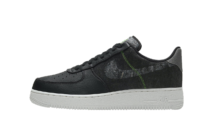 Nike Air Force 1 07 LV8 Recycled Black CV1698-001 01