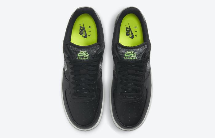 Nike Air Force 1 07 LV8 Recycled Black CV1698-001 03