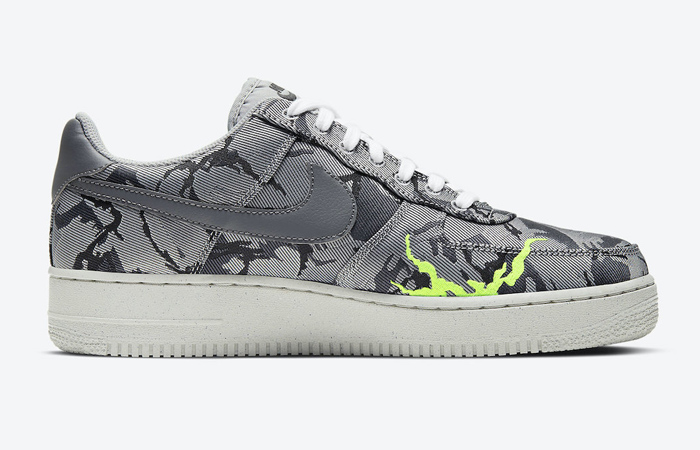 Nike Air Force 1 07 LX Smoke Grey Electric Green CV1725-001 03