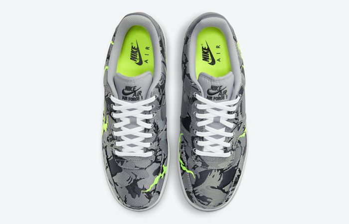 Nike Air Force 1 07 LX Smoke Grey Electric Green CV1725-001 04