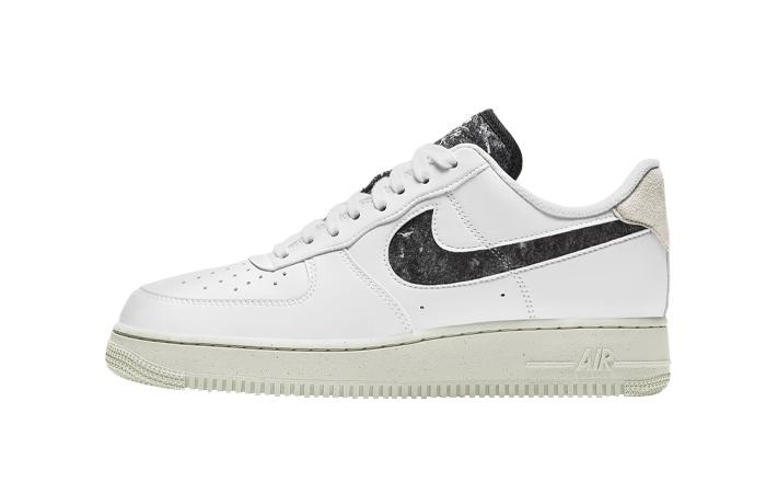 Nike Air Force 1 07 White Black Womens DA6682-100 01