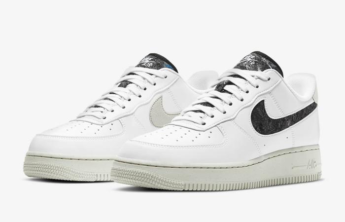 Nike Air Force 1 07 White Black Womens DA6682-100 02
