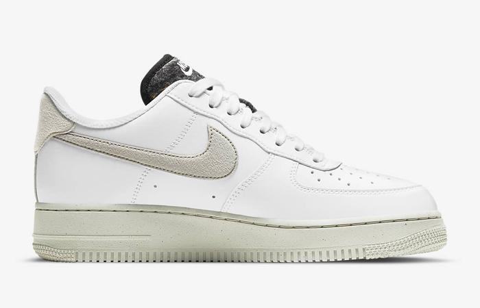 Nike Air Force 1 07 White Black Womens DA6682-100 03