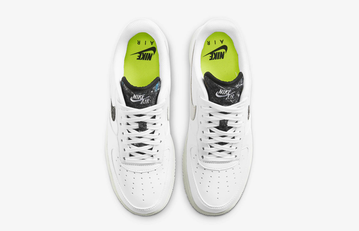 Nike Air Force 1 07 White Black Womens DA6682-100 04